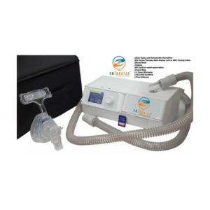 Delta Sleep Auto Cpap A20 With Detachable Humidifier Nasal Mask Tubing SD Card Travel Bag