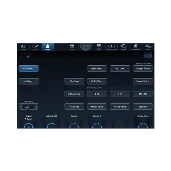 GE Vivid S70 Cardiac Ultrasound Imported 6