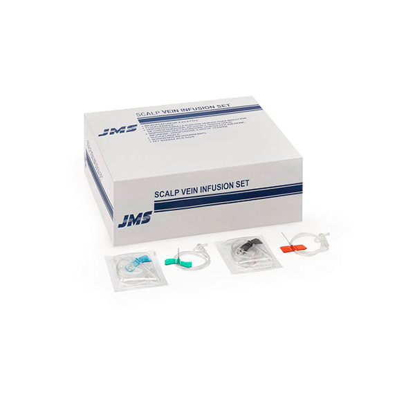 JMS Scalp Vein Set 21G to 26G 1