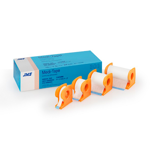 JMS TAPE – WITH CUTTER – Meditape 1 2 INCH 1 1