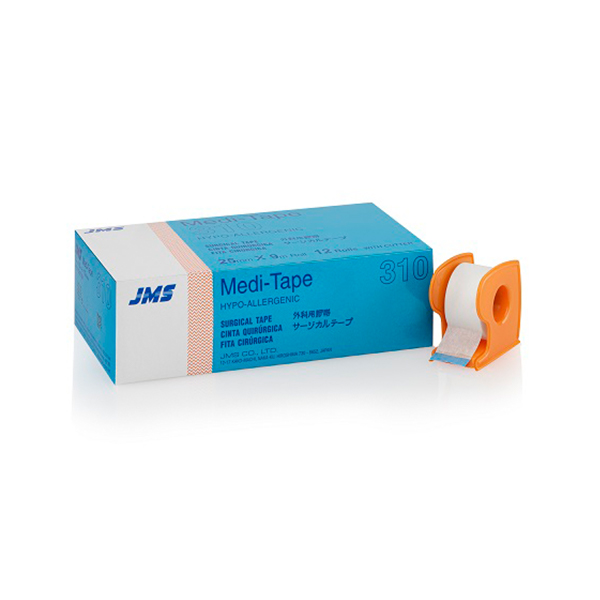 JMS TAPE – WITH CUTTER – Meditape 1 INCH 1 1