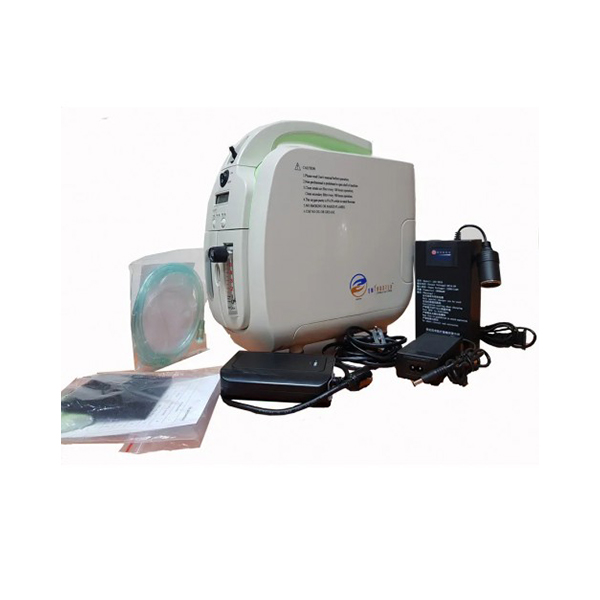 Oxy Care Smart 5 LPM 6 Kgs With Battery Backup Car Inverter Trolley