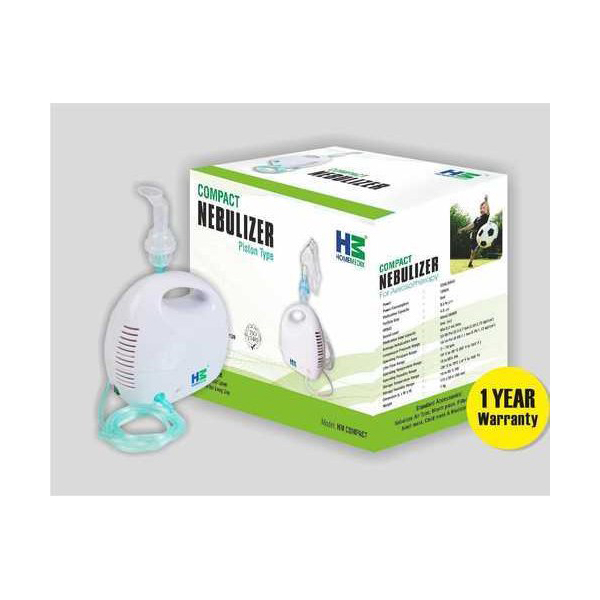 Piston Type Compact Nebulizer For Aerosol Therapy