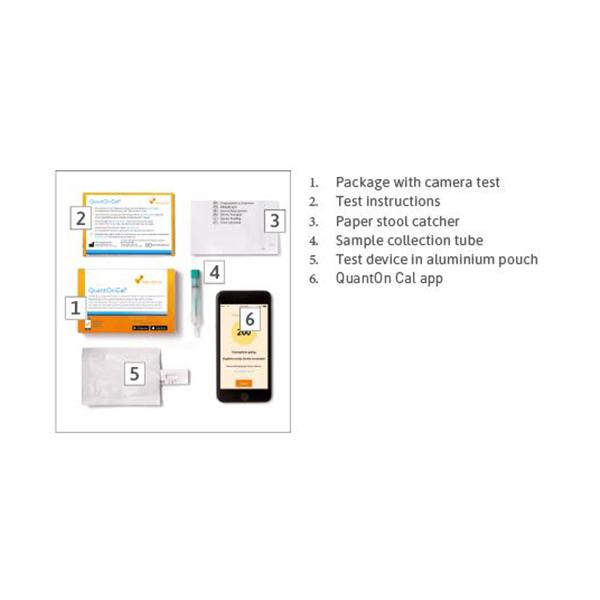 QuantOn Cal – Inflammatory Bowel Disease Home Test Kit 1