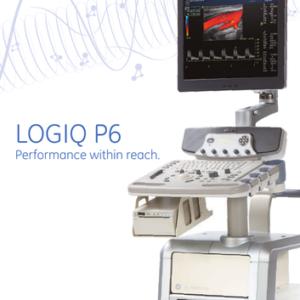 LOGIQ P6 Ultrasound System (Refurbished)