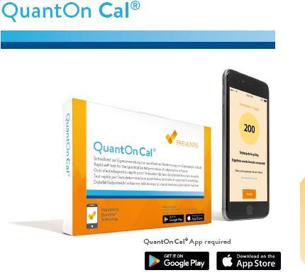 QuantOn Cal - Inflammatory Bowel Disease Home Test Kit