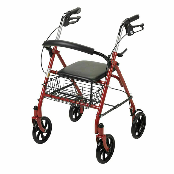 4 Wheel Rollator With Footrest 1