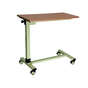 Adjustable Bed Side Table With Knob 2