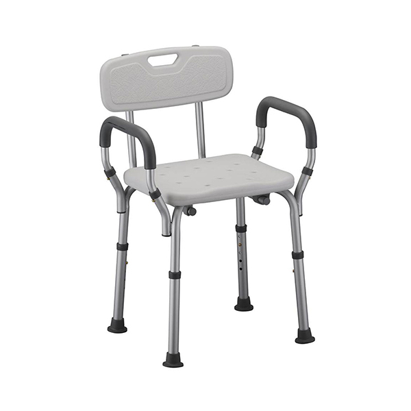 Aluminum Bathing Chair With Handrest