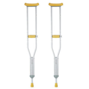 Aluminum Underarm Crutches With Aadjustable Height