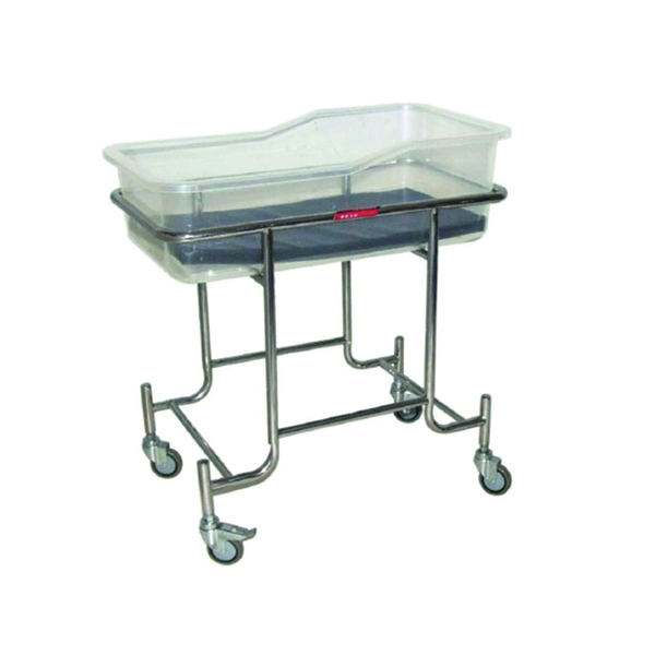 Stainless Steel Baby Trolley for Hospital