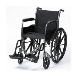 Basic Wheelchair GCo Chrome GCo Black