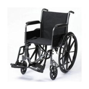 Basic Wheelchair GCo Chrome GCo Black