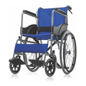 Basic Wheelchair GCo Chrome GCo Blue