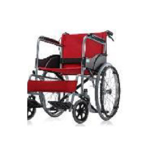 Basic Wheelchair GCo Chrome GCo Red