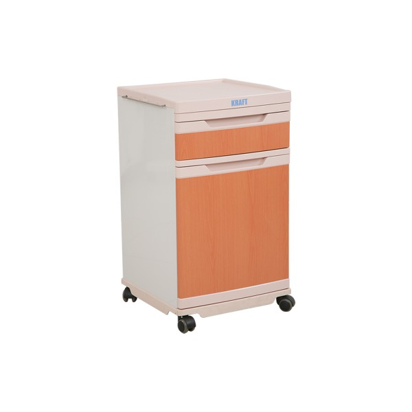 ABS BedSide Locker Laminated for Hospital