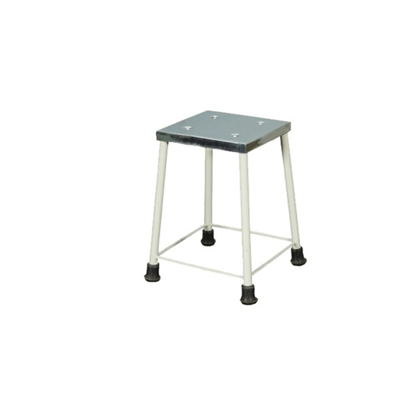Bedside Stool With Stainless Steel Top for Hospital