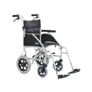 Deluxe Transport Wheelchair 12GC¦ wheels