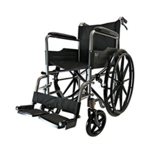 Deluxe Wheel chair with PU Mag wheel