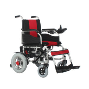 Electric folding wheelchair 1