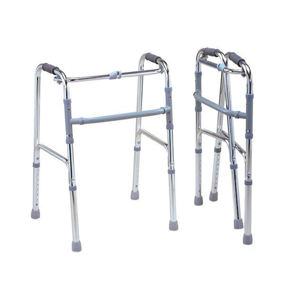 Folding Walker Imported – Chrome