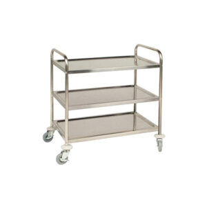 Stainless Steel Instrument Trolley for Hospital