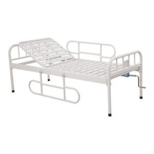 Manual Semi Fowler Backrest Bed (1 Function) for Hospital and Clinics