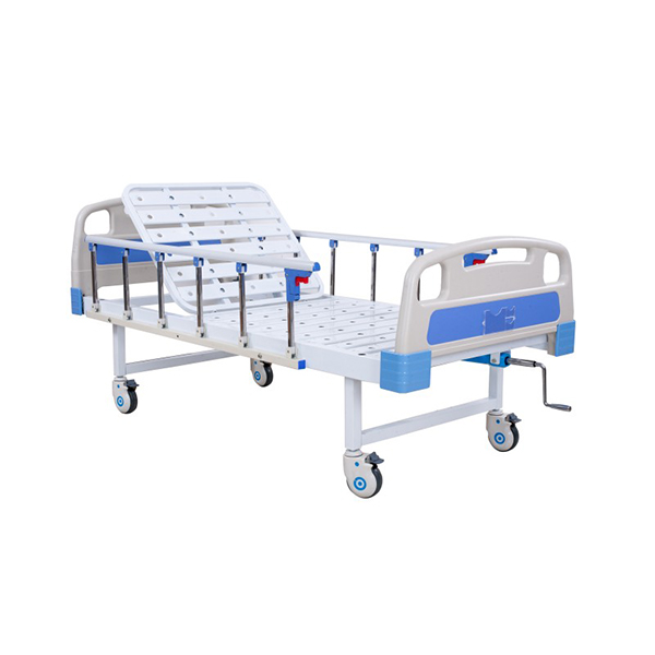Manual Semi Fowler Backrest Bed 1 Function Economy 1