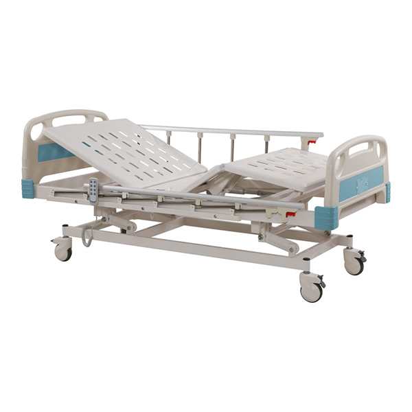 Height Adjustable Motorized 5 Function ICU Bed for Hospital