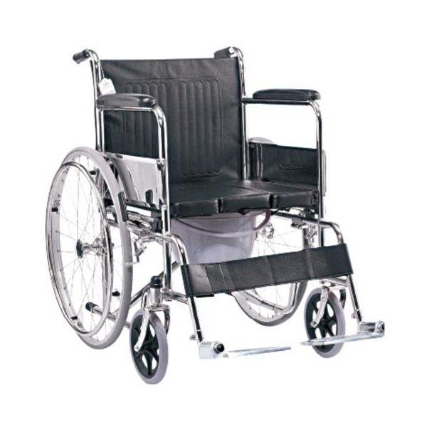 Wheelchair with Commode U cut 1