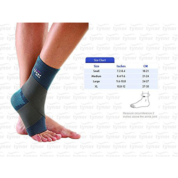 Tynor Ankle Support Comfeel Binder Medium 1