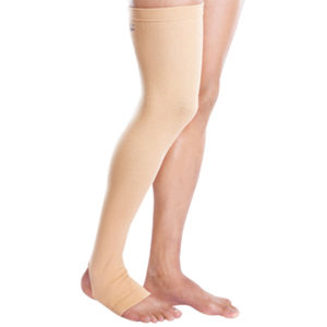 Tynor Compression Stocking Mid Thigh Classic Pair Medium Beige 2.00 1