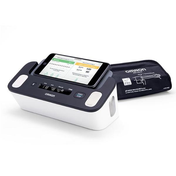 Complete Wireless Upper Arm Blood Pressure Monitor EKG 1