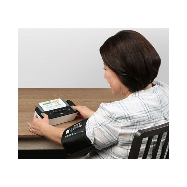 Complete Wireless Upper Arm Blood Pressure Monitor EKG 3