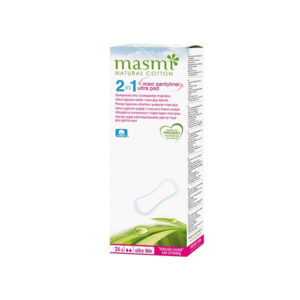 Masmi 100 Pure Cotton 2 In 1 GCo Maxi Plus Ultra Pads 24s