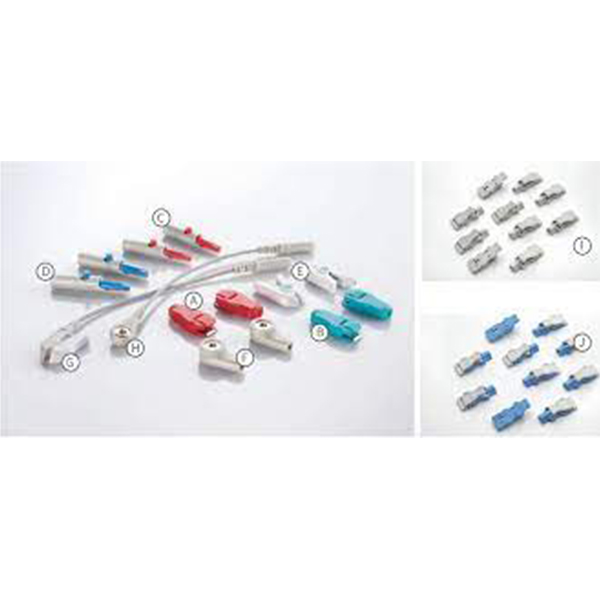 Pediatric Snap Disposable Electrodes Box Of 1500 100EP