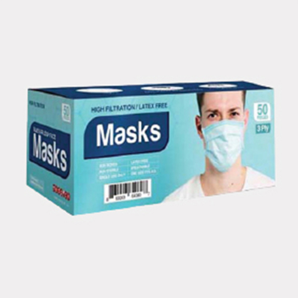 3 Ply Mask – 1 Box(50 Pcs)-Medical Product Face Mask For Virus Protection Online In India