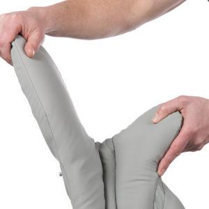 Flexible Fin Accommodates Different Leg Sizes