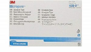 3M™ Micropore™ Surgical Tape with dispenser 1535-2, 5cm x 9.14 m