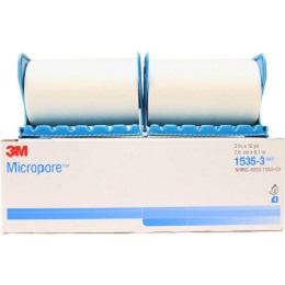 3M™ Micropore™ Surgical Tape with dispenser 1535-3,