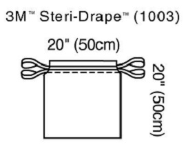 3M™ Steri-Drape™ Isolation Bag-1003