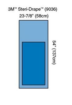 3M™ Steri-Drape™ Mayo Stand Cover 9036