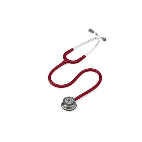 3M™ Littmann® Classic III™ Stethoscope 5627 Burgundy Tube 1