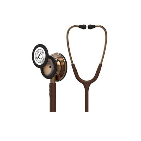3M™ Littmann® Classic III™ Stethoscope 5809 Copper Finish Chestpiece Chocolate Tube 1