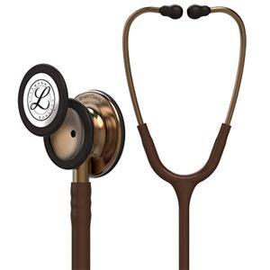 3M™ Littmann® Classic III™ Stethoscope, 5809, Copper-Finish Chestpiece, Chocolate Tube