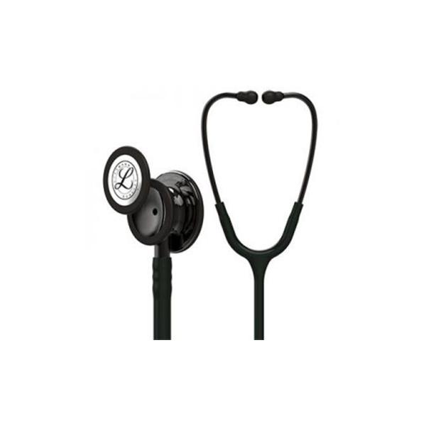 3M™ Littmann® Classic III™ Stethoscope 5811 Smoke Chest Piece Black Tube 1