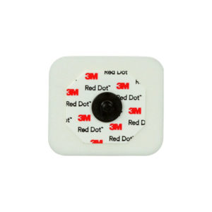 3M™ Red Dot™ Monitoring Electrode With Foam Tape And Sticky Gel