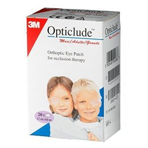 3M ADULT1539 Opticlude Eye Patch 3 1/4″ x 2 1/4″, Pack of 20(Adult)