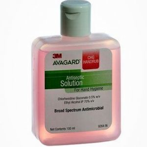 3M Avagard Handrub 100ml (Rose) -Without Pump