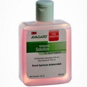 3M Avagard Handrub 100ml (Rose) -Without Pump